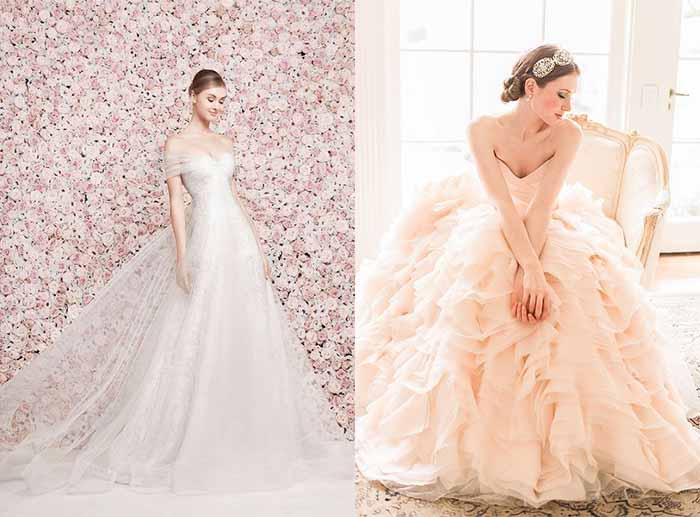 cherry blossom wedding dresses photo - 1