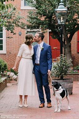 civil courthouse wedding dresses photo - 1