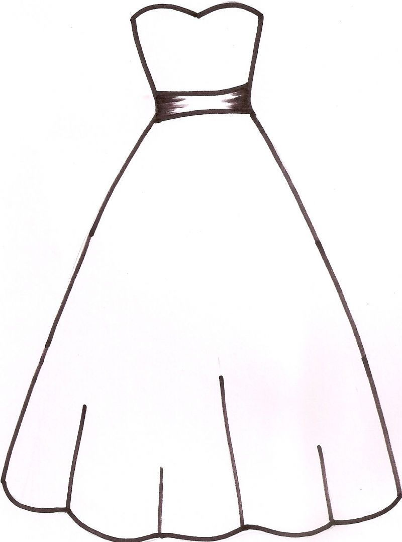 clipart wedding dresses photo - 1