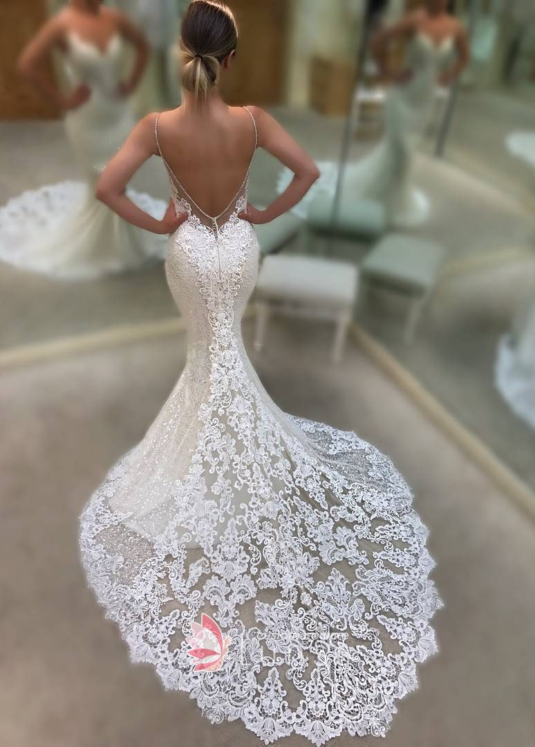 color mermaid wedding dresses photo - 1