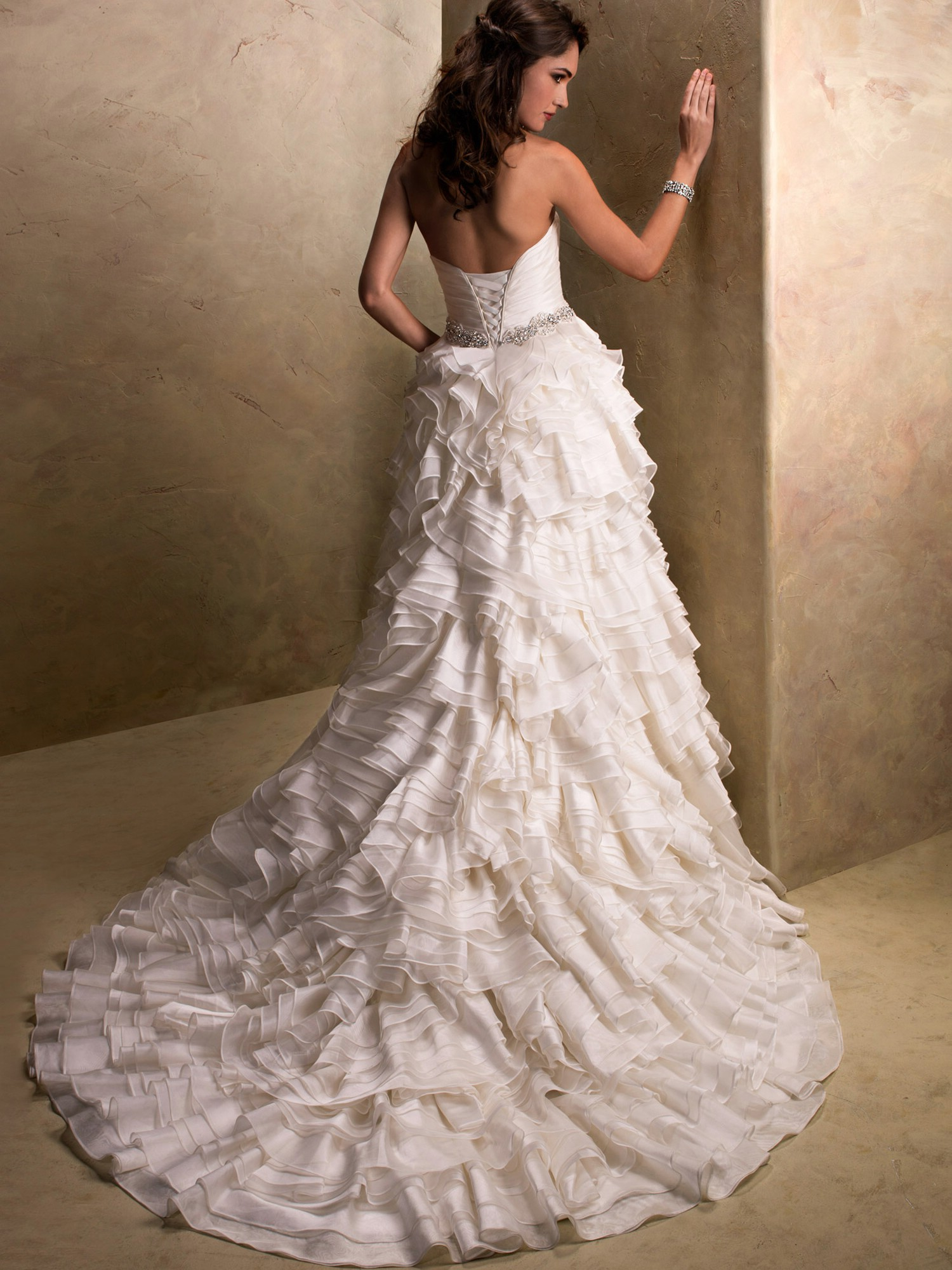 corset top wedding dresses photo - 1