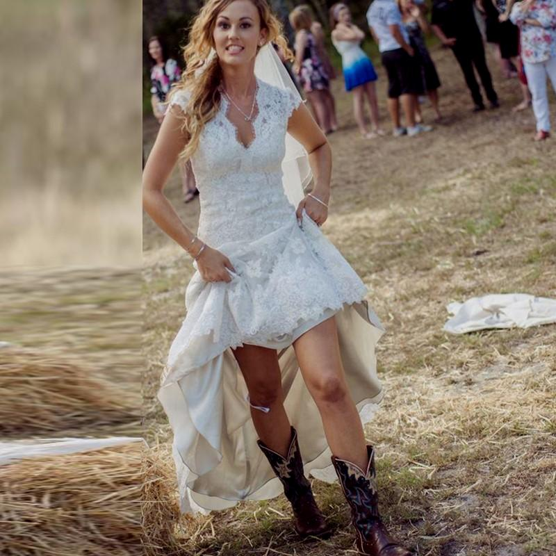 country chic wedding dresses photo - 1