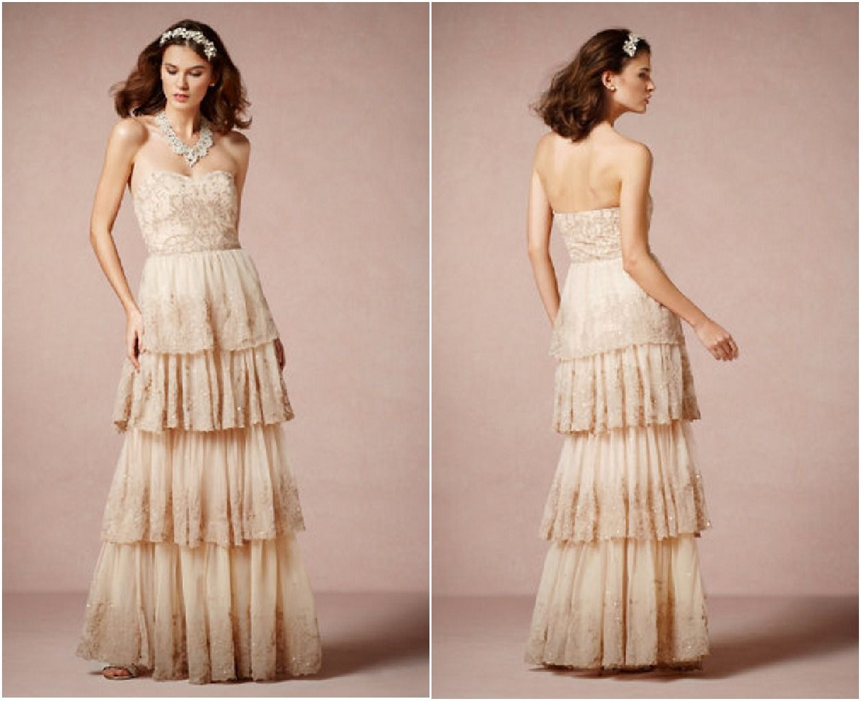 country dresses for wedding photo - 1