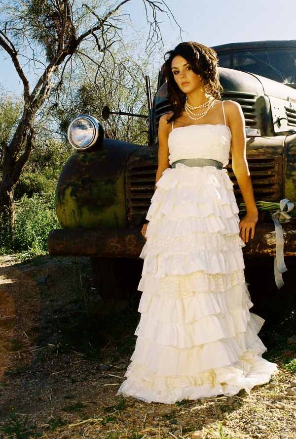 country inspired wedding dresses photo - 1