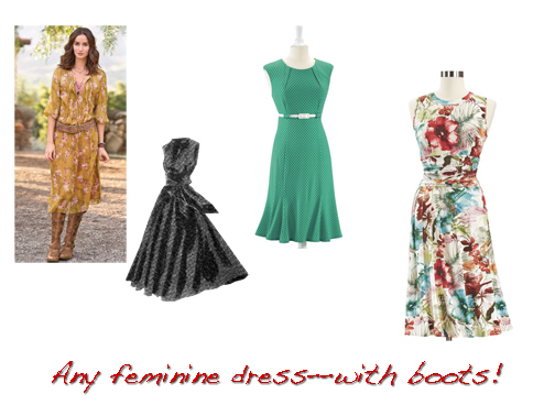 country style dresses for wedding guests photo - 1