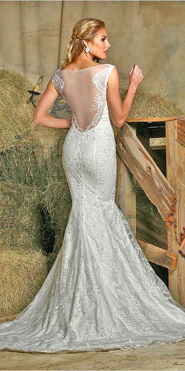 country style wedding dresses photo - 1