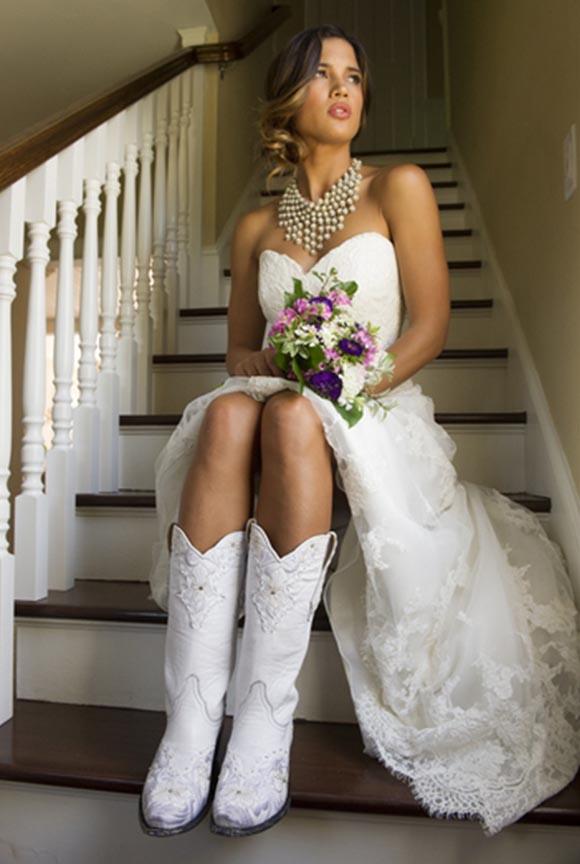 cowboy wedding dresses photo - 1