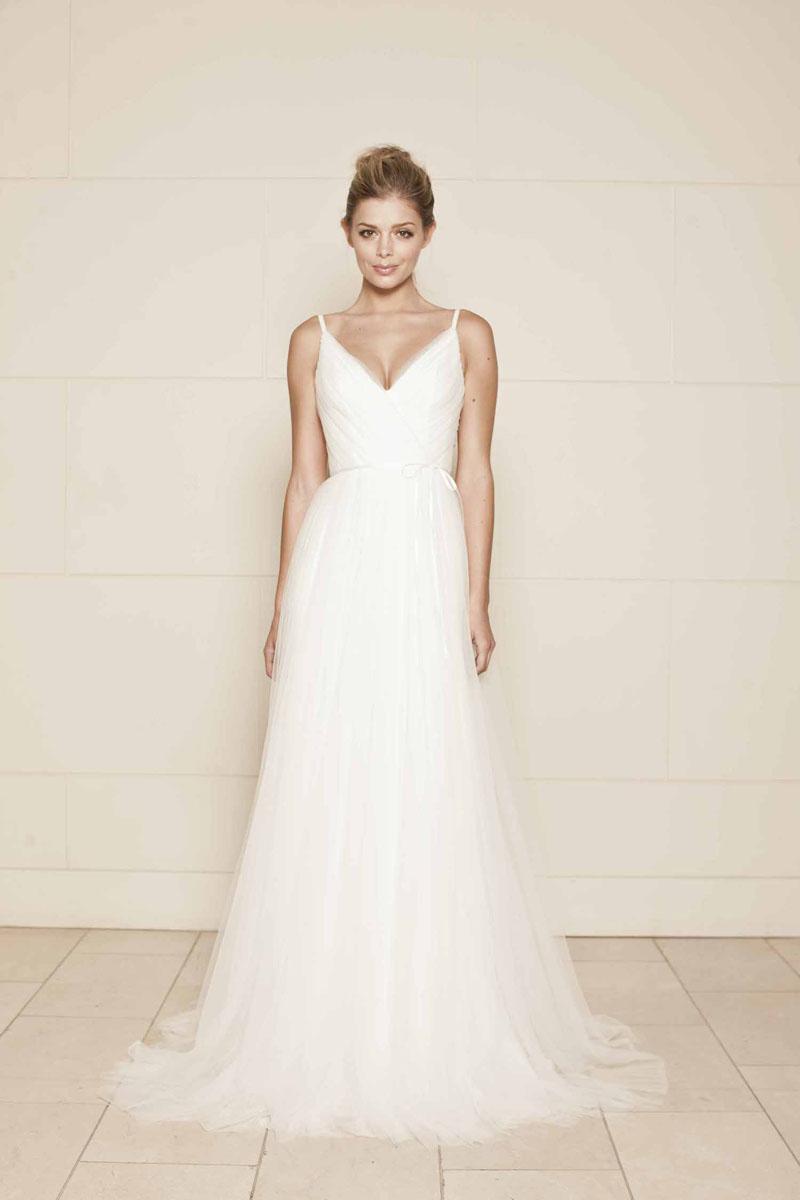 custom designed wedding dresses photo - 1