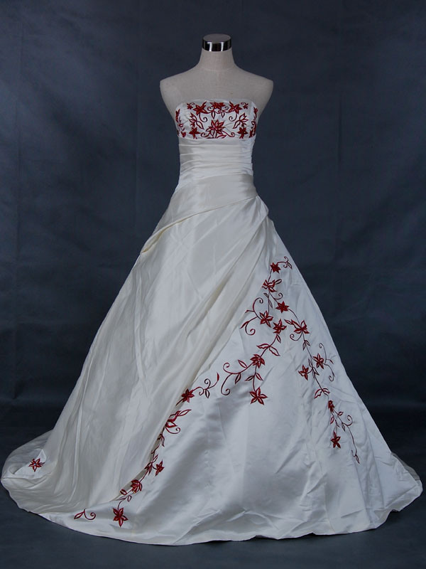 custom made wedding dresses from china photo - 1