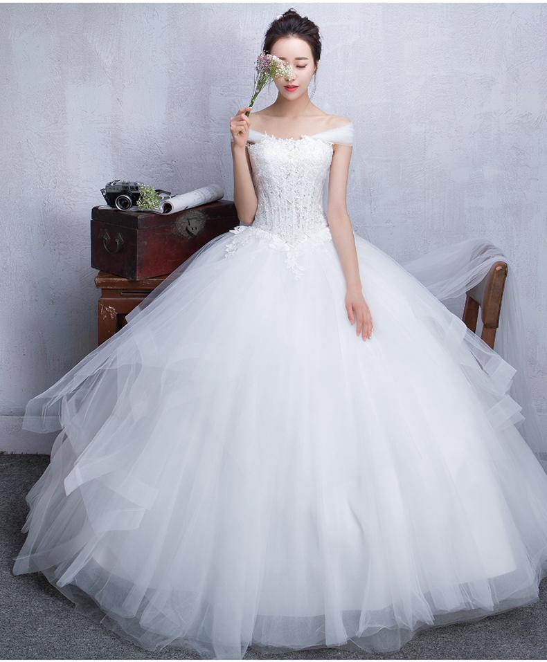 cute cheap wedding dresses photo - 1