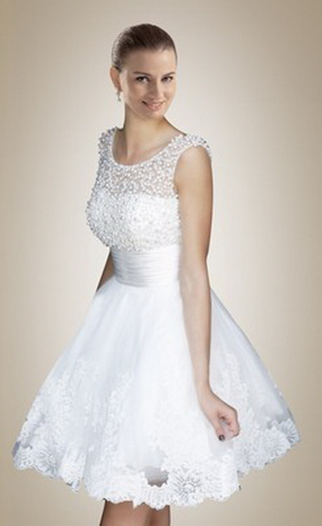 cute short wedding dresses photo - 1