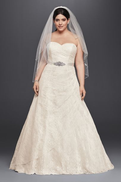 davids bridal country wedding dresses photo - 1