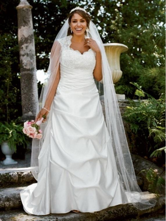 davids bridal plus size wedding dresses photo - 1