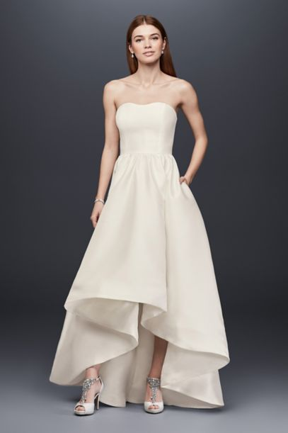 davids bridal simple wedding dresses photo - 1