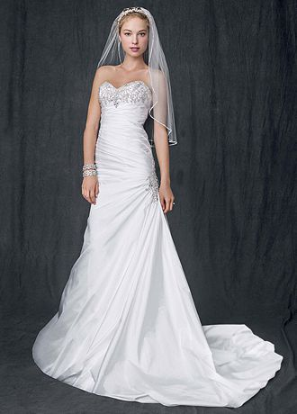 davids bridal summer wedding dresses photo - 1