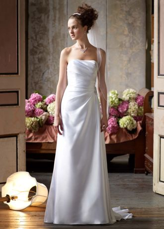 davids bridal wedding dresses for $99 photo - 1