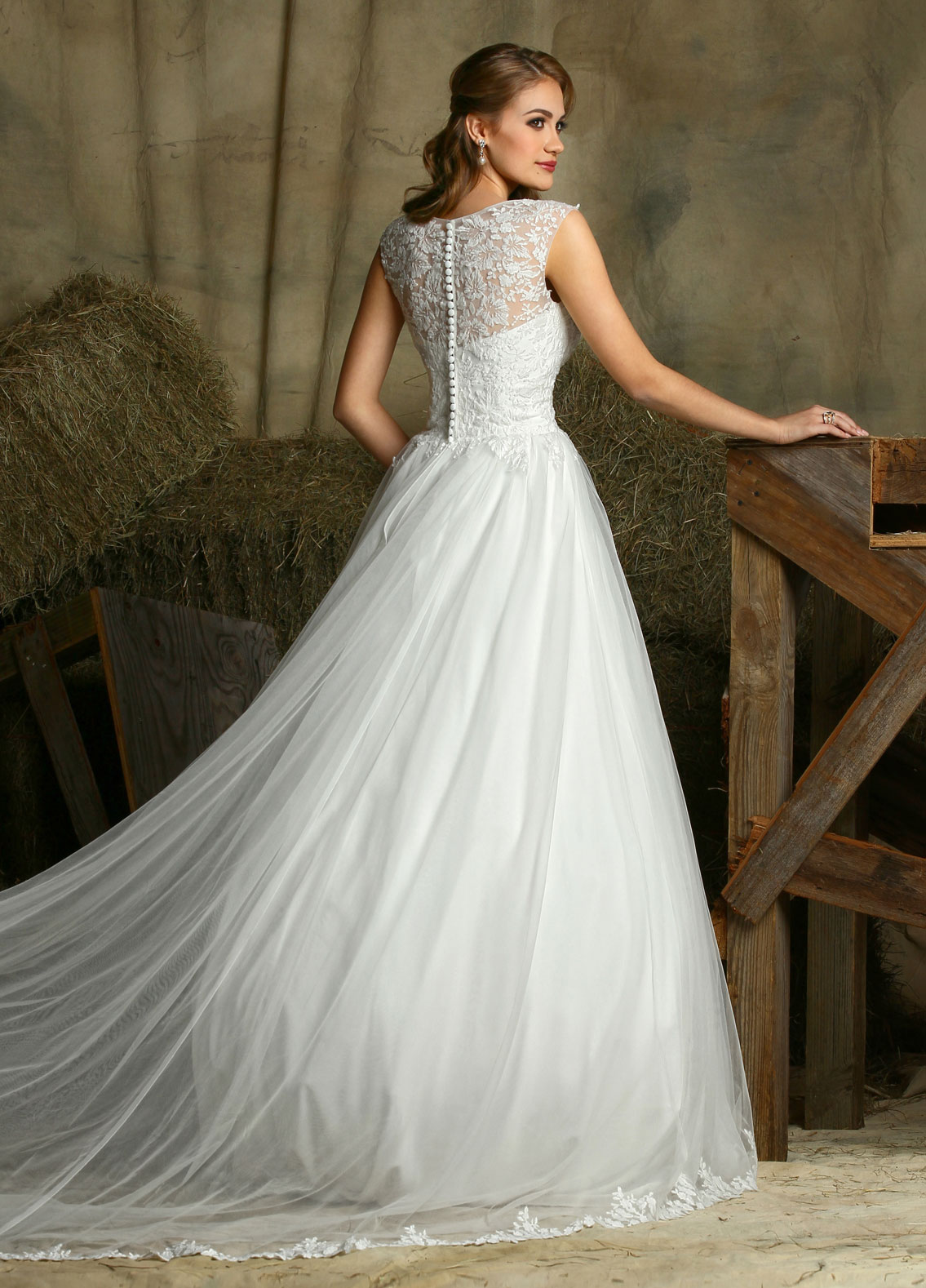 davinci wedding dresses photo - 1