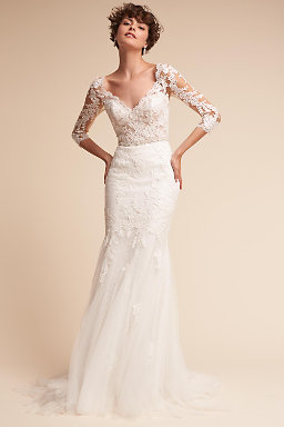 designer lace wedding dresses photo - 1