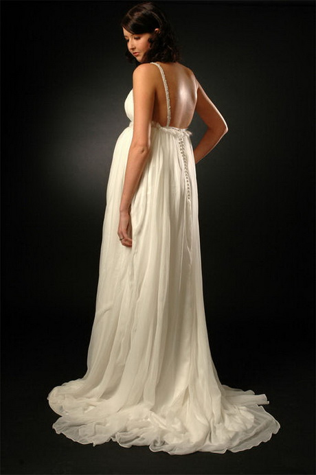 designer maternity wedding dresses photo - 1