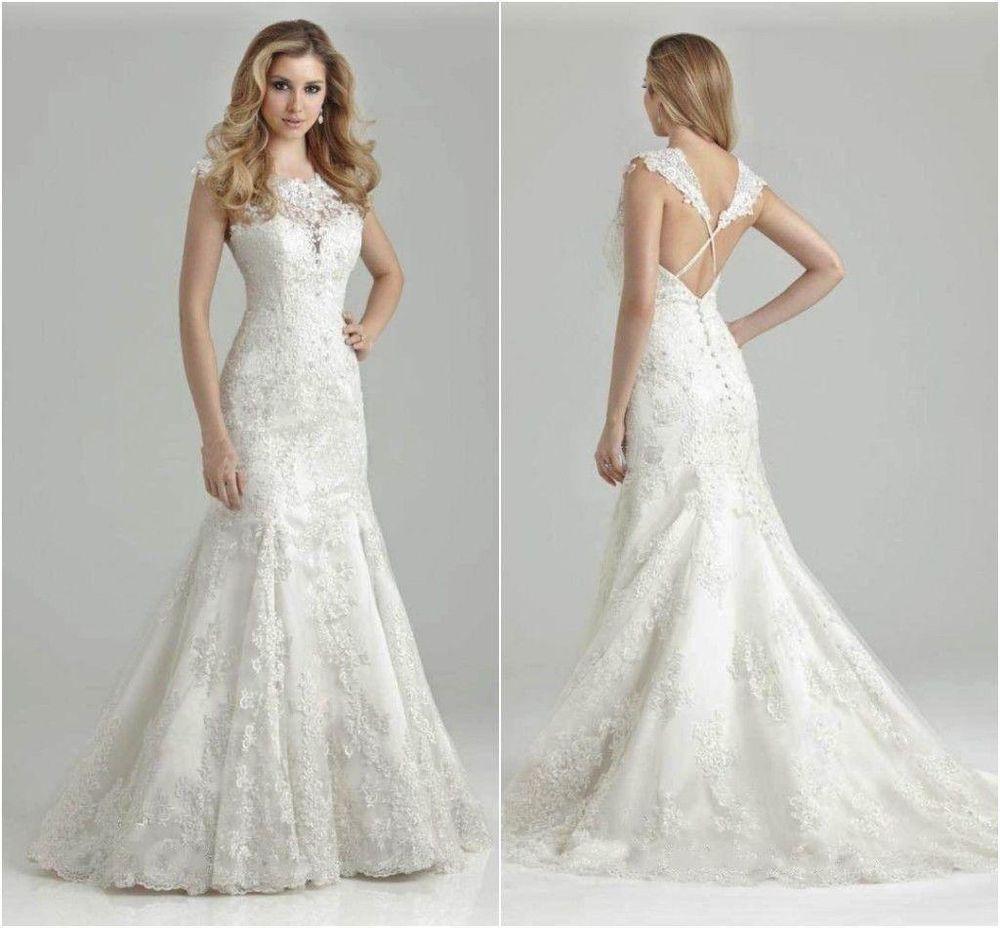 designer mermaid wedding dresses photo - 1