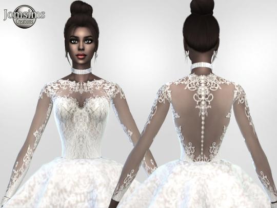 diamond white wedding dresses photo - 1