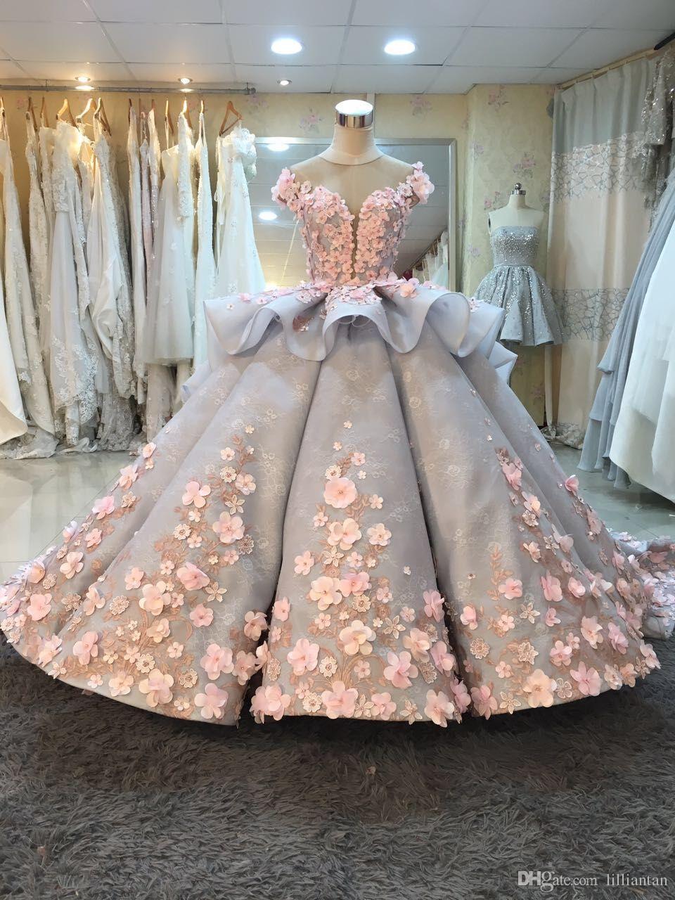 discount lace wedding dresses photo - 1