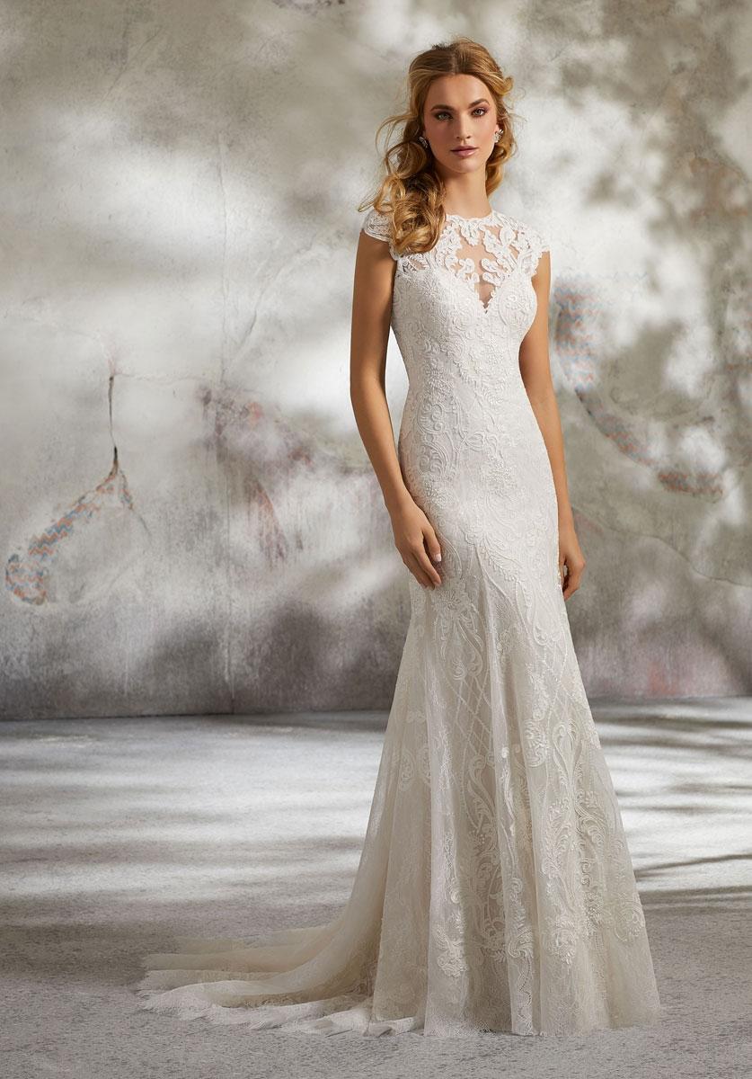 discount mori lee wedding dresses photo - 1