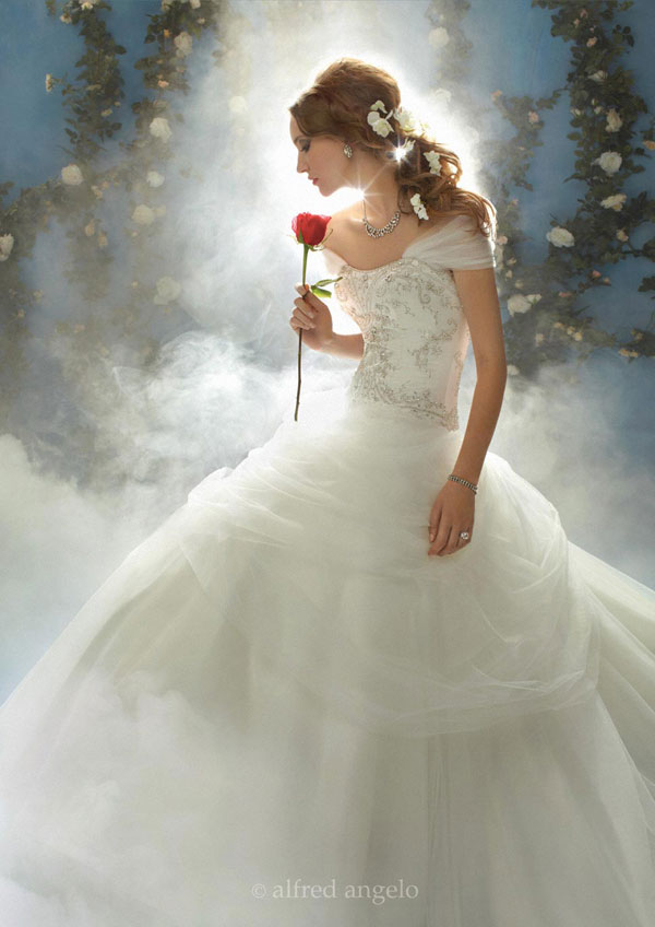 disney themed wedding dresses photo - 1