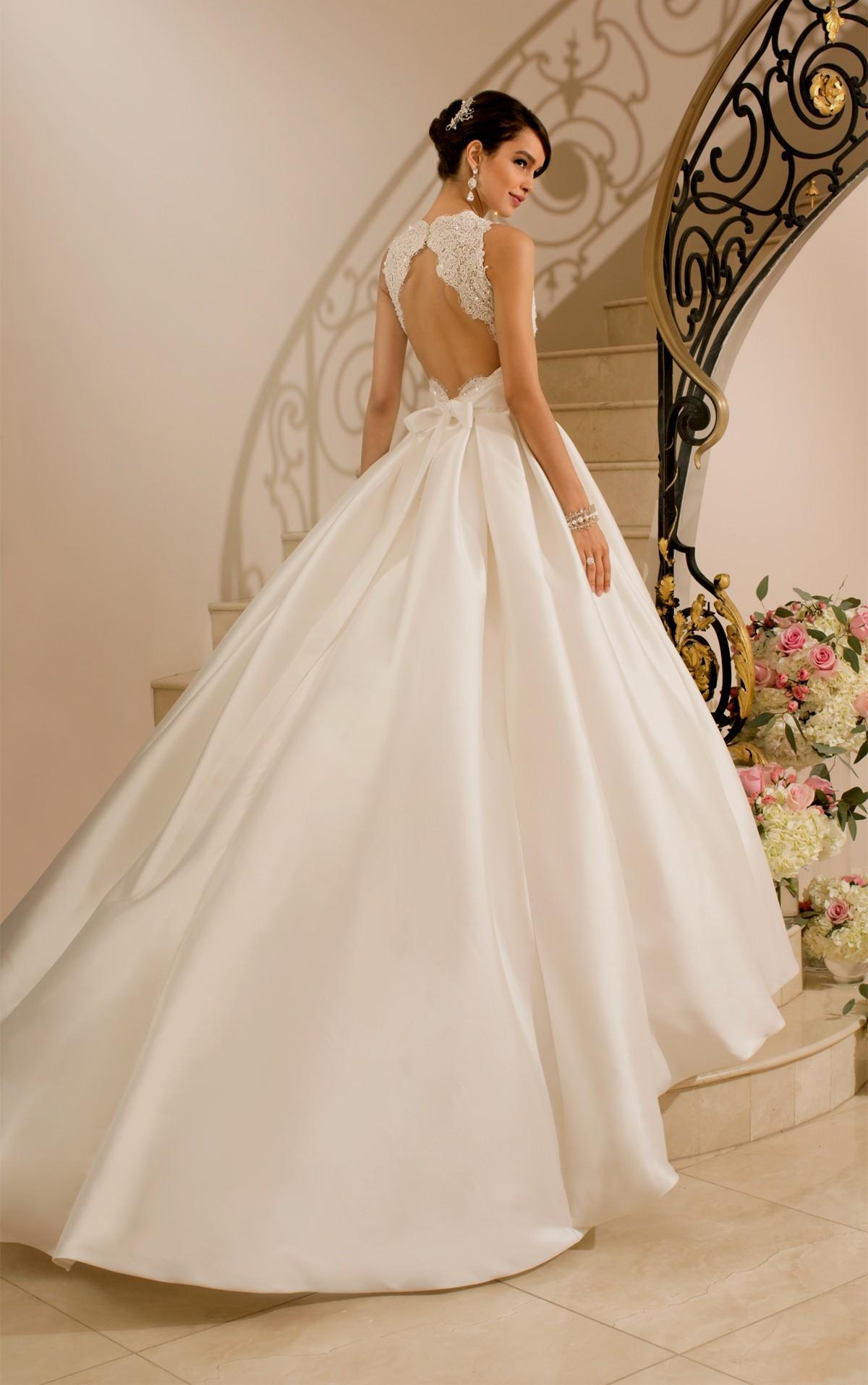 dramatic wedding dresses photo - 1