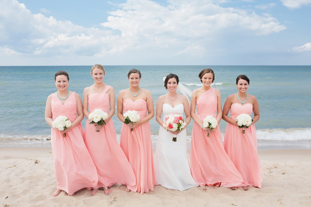 dresses for a beach wedding photo - 1