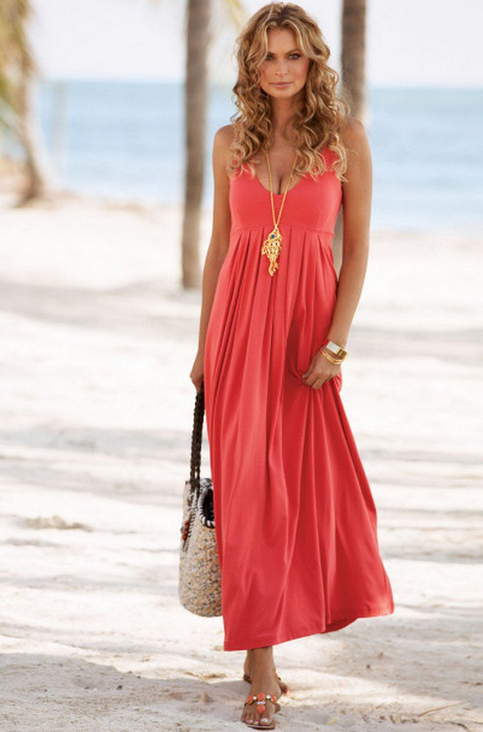 dresses for beach wedding guest photo - 1