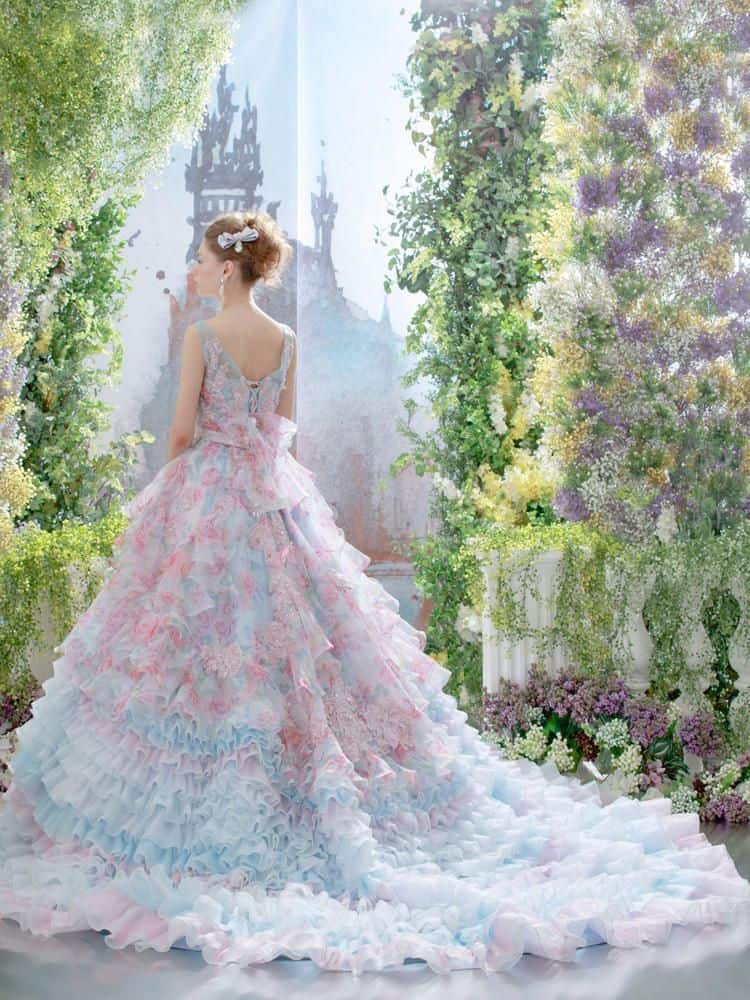 dresses for november wedding photo - 1