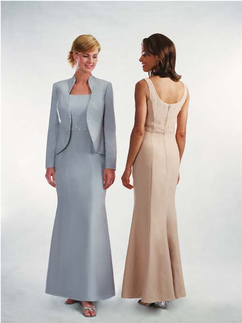 dresses for the grooms mother to wear at wedding photo - 1
