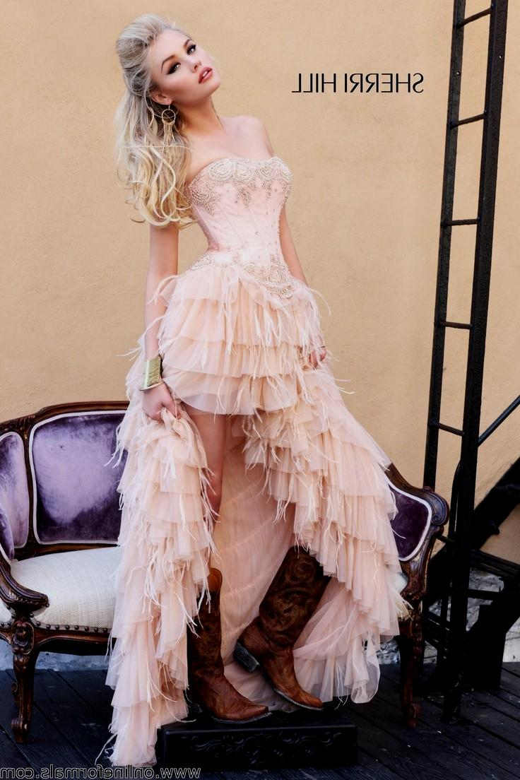 dresses to wear with cowboy boots to a wedding photo - 1