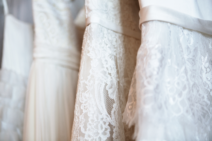 drycleaning wedding dresses photo - 1
