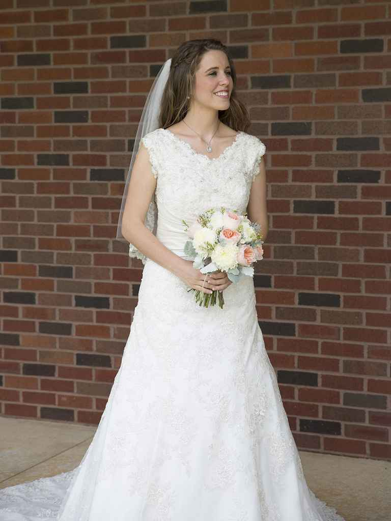 duggar wedding dresses photo - 1