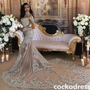 ebay mermaid wedding dresses photo - 1
