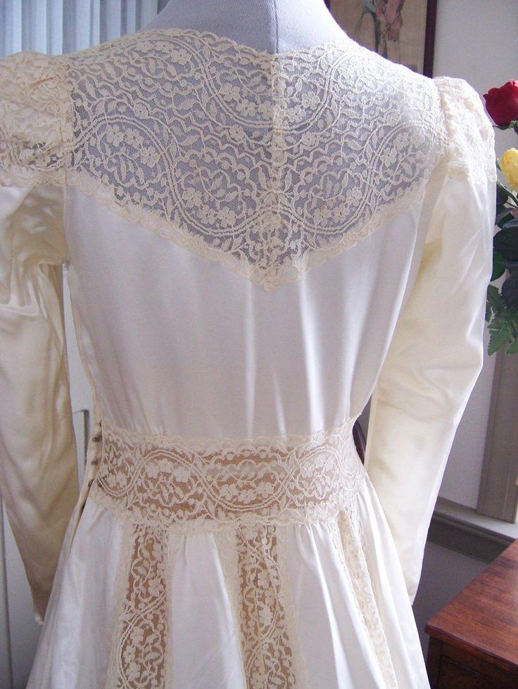 ebay vintage wedding dresses photo - 1