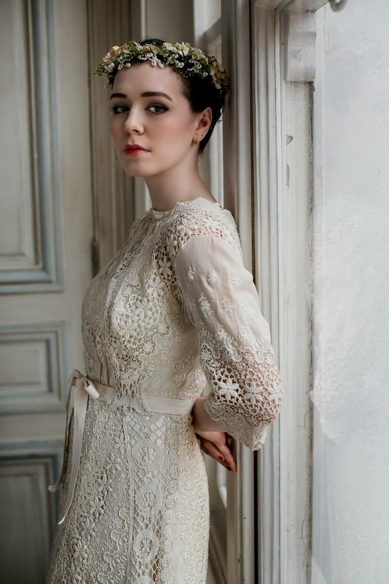edwardian style wedding dresses photo - 1