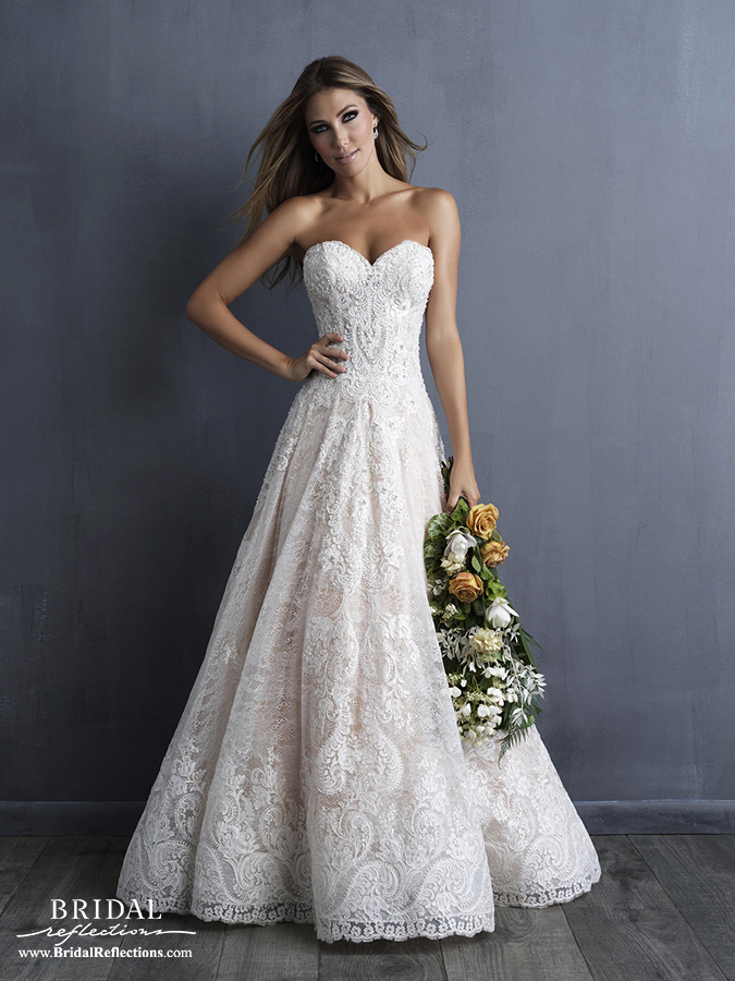 elegant beach wedding dresses photo - 1