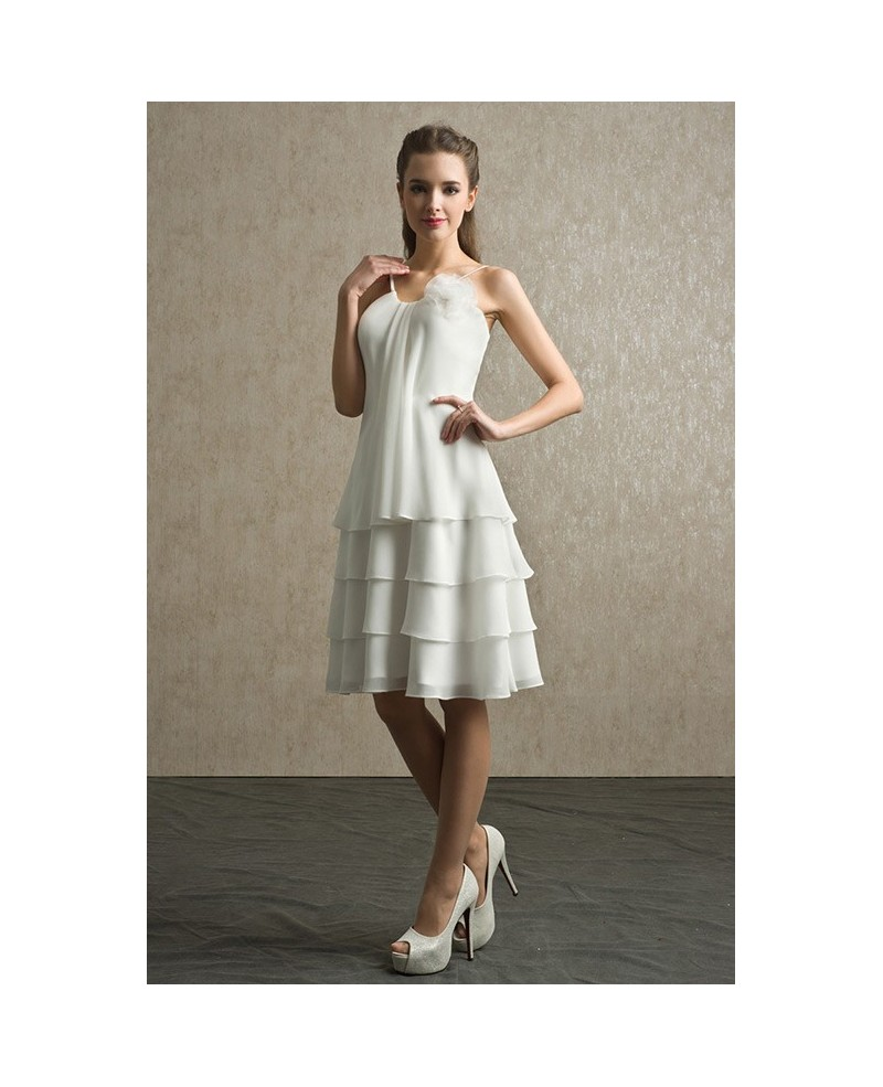 elegant ivory dresses photo - 1