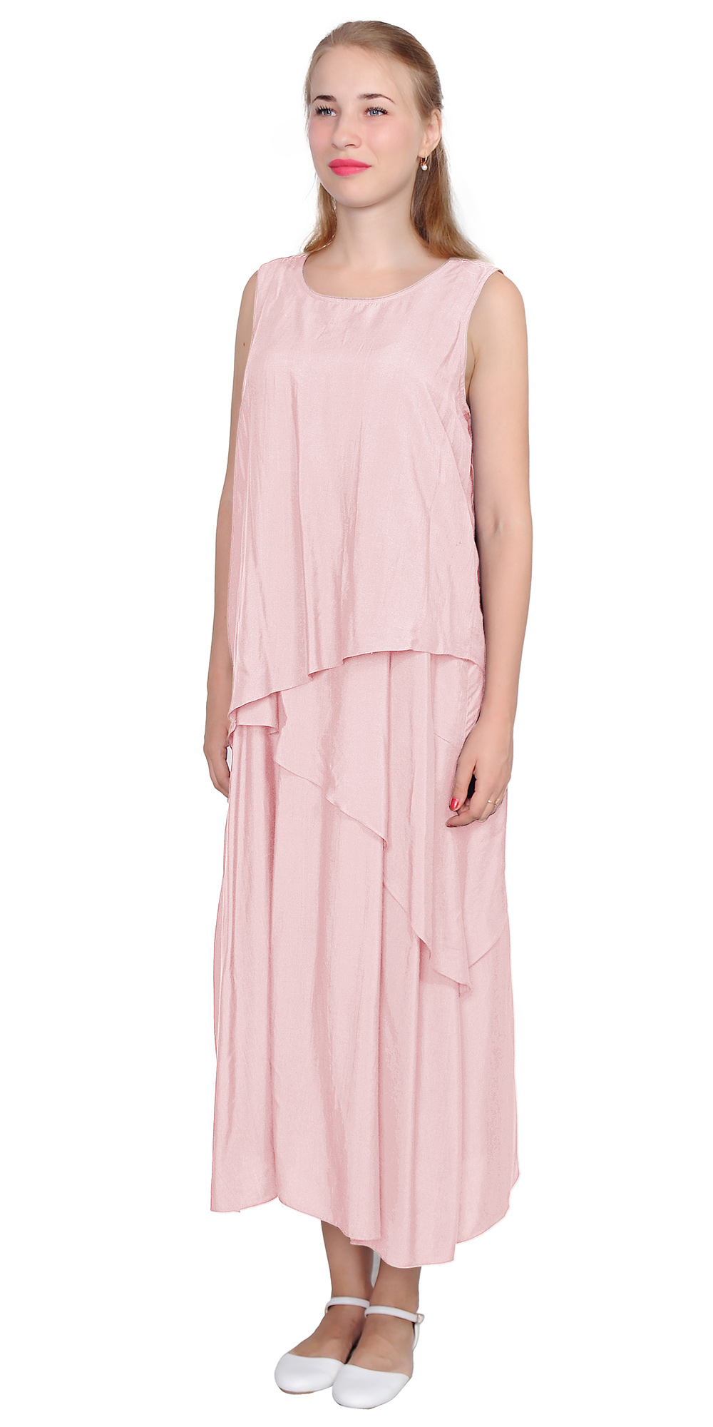 elegant linen dresses photo - 1