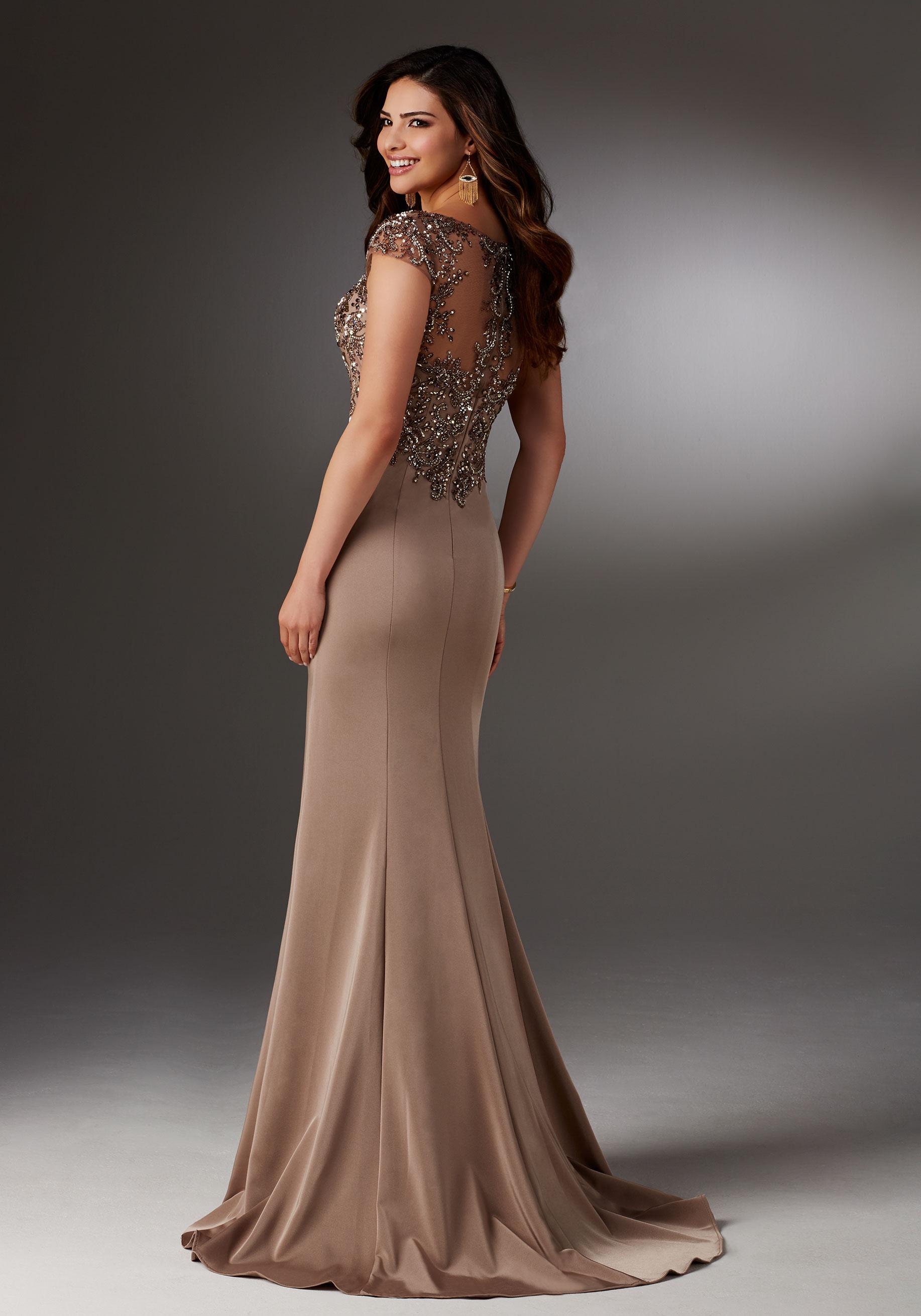 elegant long evening dresses photo - 1