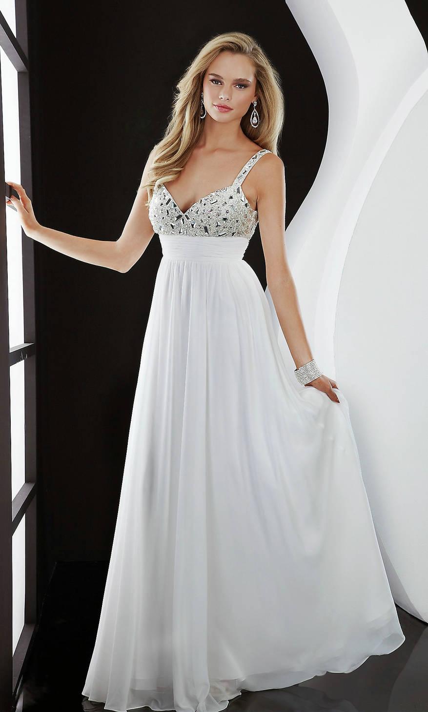 elegant long prom dresses photo - 1
