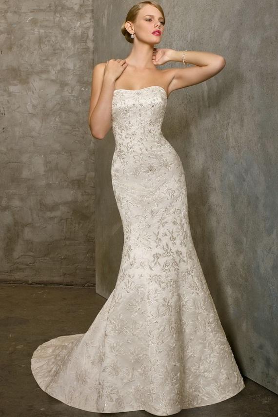 elegant mermaid dresses photo - 1