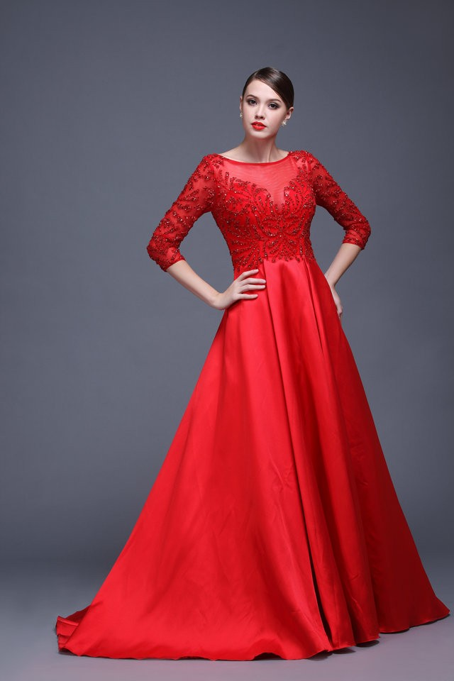 elegant party dresses photo - 1