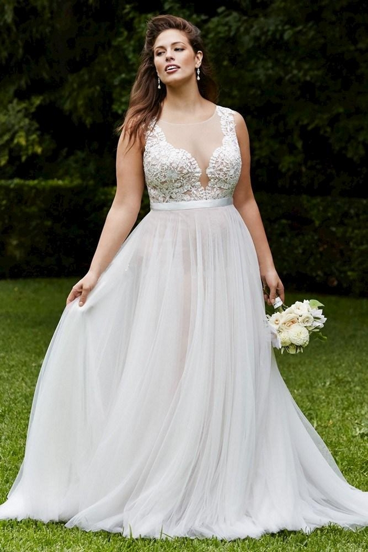 elegant plus size wedding dresses photo - 1