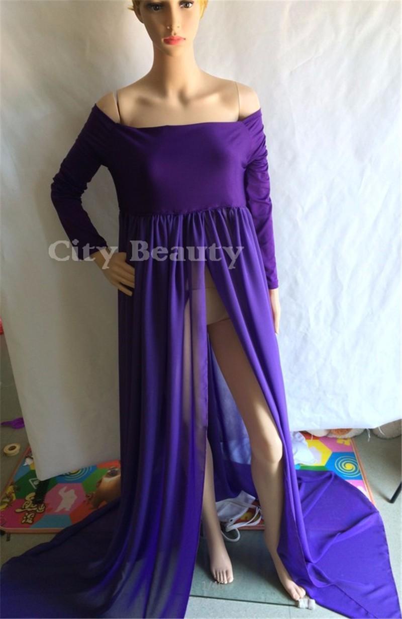 elegant pregnancy dresses photo - 1