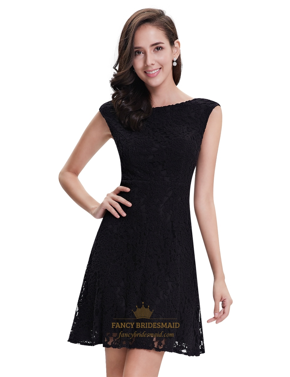 elegant short black dresses photo - 1