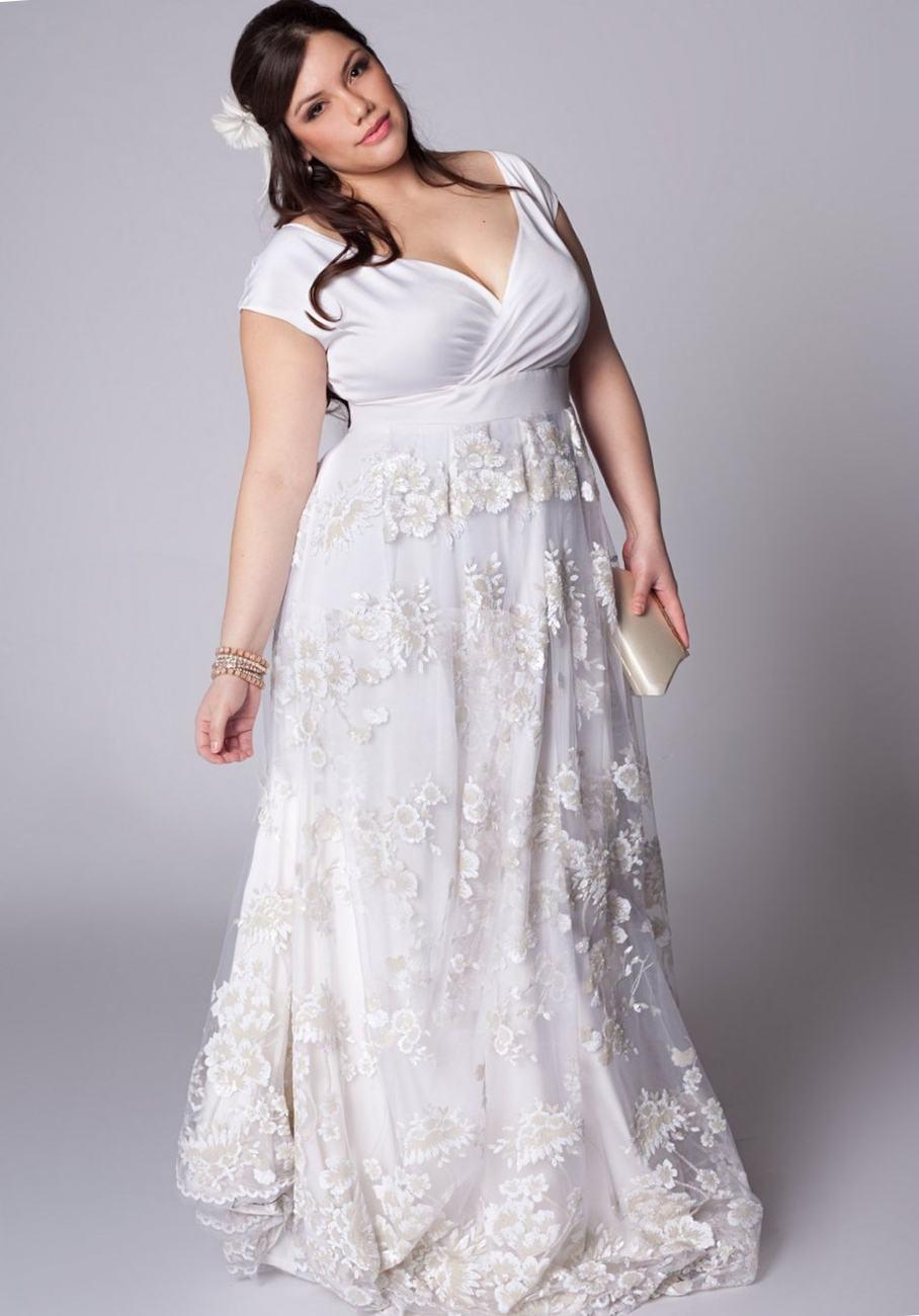 empire waist wedding dresses vera wang photo - 1